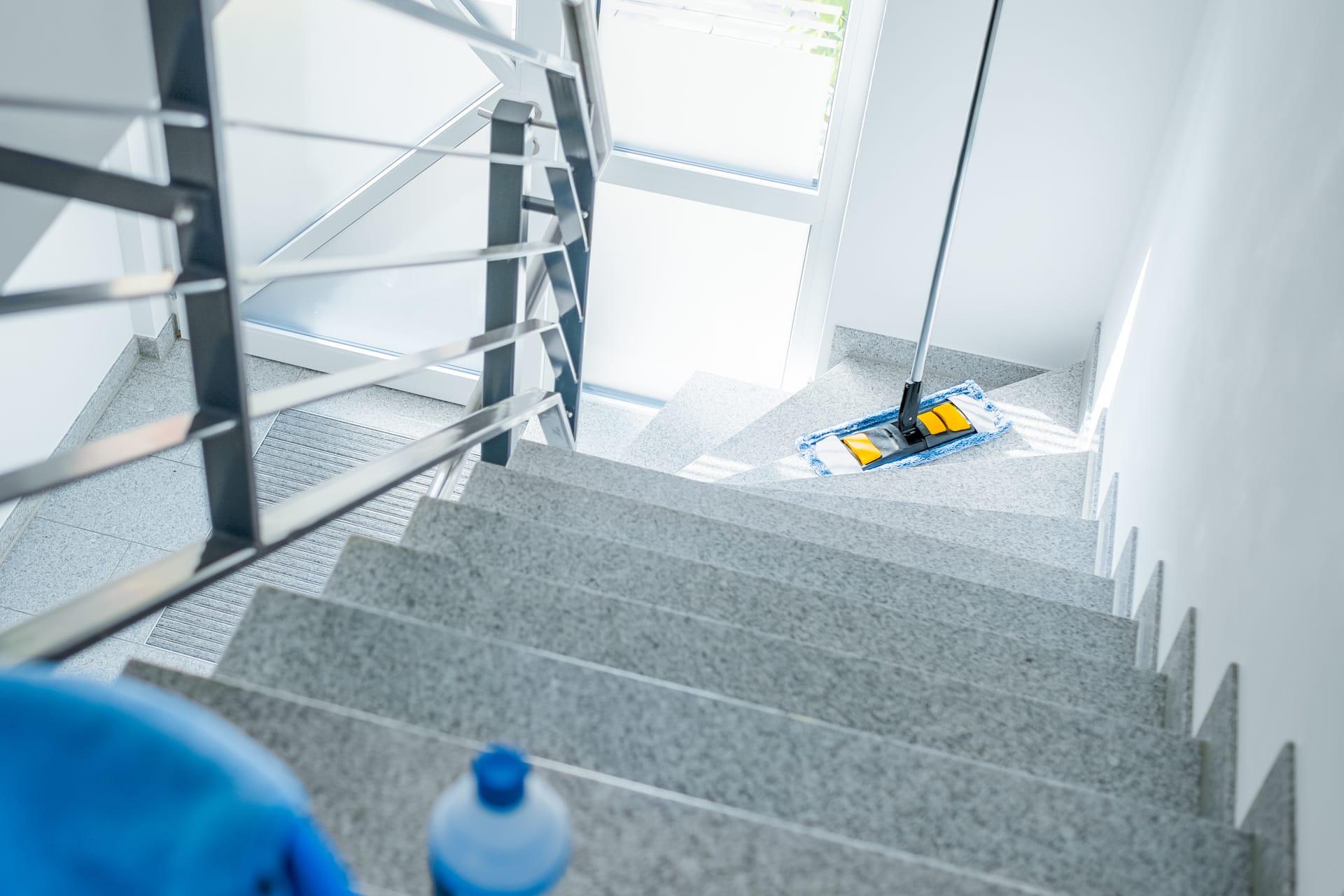 Rengøring af trapper
